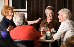 Playing Cards with Friends is Healthy! Alberta Beach Active 50+